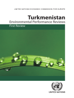 74.Environmental Performance Review Turkmenistan.