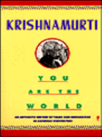 Krishnamurti - You Are the World (Perennial library) (1973)