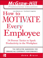 Anne  Bruce - How to Motivate Every Employee (2002)