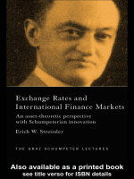 Eric Streissler - Exchange Rates and International Financial Markets- An Asset-Theoretic Perspective with Schumpeterian Innovation (The Graz Schumpeter Lectures) (2002)