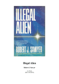 Robert J. Sawyer - Illegal Alien (1999)