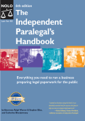 Stephen Elias Catherine Elias Jermany Ralph E. Warner - Independent Paralegals Handbook- How to Provide Legal Services Without Becoming a Lawyer; 6th Edition (2004)