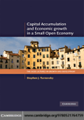 Stephen J. Turnovsky - Capital Accumulation and Economic Growth in a Small Open Economy (The CICSE Lectures in Growth and Development) (2009)