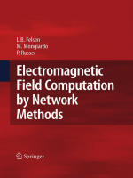 Leopold B. Felsen Mauro Mongiardo Peter Russer - Electromagnetic Field Computation by Network Methods (2009)