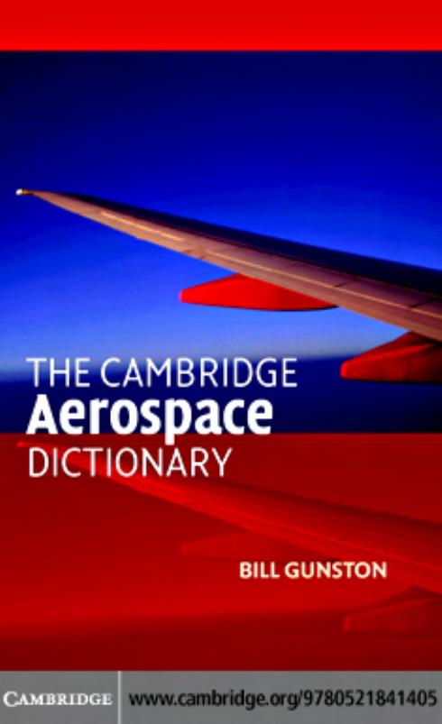 Bill gunston the cambridge aerospace dictionary cambridge bill gunston the cambridge aerospace dictionary cambridge aerospace series 2004 fandeluxe Image collections