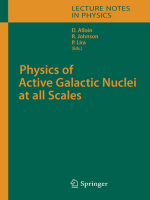 Danielle Alloin (Editor) Rachel Johnson (Editor) Paulina Lira (Editor) - Physics of Active Galactic Nuclei at all Scales (2006)