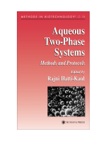 Rajni Hatti-Kaul - Aqueous Two-Phase Systems- Methods and Protocols (Methods in Biotechnology) (2000)