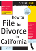 John Talamo Edward A. Haman - How to File for Divorce in California (Legal Survival Guides) (2003)