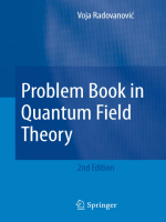 2531.Voja Radovanovic - Problem Book in Quantum Field Theory (2007  Springer).pdf