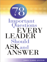 6193.Chris Clarke-Epstein - 78 Important Questions Every Leader Should Ask and Answer (2002  AMACOM).pdf