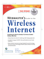 7441.Fife R. (ed.)  Lee W.M.  Olsen D.A. - Webmasters guide to the wireless Internet (2001).pdf