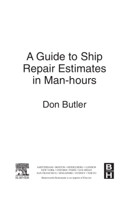 2010.A Guide to Ship Repair Estimates in Man-hours.