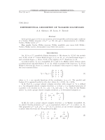 Differential geometry of Walker manifolds.