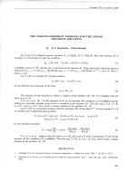 The Verigin Dirichlet problem for the linear oskolov equation.