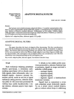 Adaptivni digitalni filtri..pdf