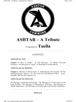 ASHTAR - A Tribute Compiled by Tuella