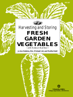 Harvesting and Storing Fresh Garden Vegetables with Notes on Nutrition