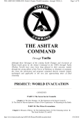 THE ASHTAR COMMAND - Book I Project World Evacuation