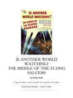 Gerald Heard - Is Another World Watching - The Riddle of the Flying Saucers
