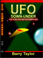 Barry Taylor - UFO Down-Under. How to see and photograph them Book