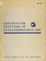 Freeman H. Quimby - Concepts for Detection of Extraterrestrial Life (2)