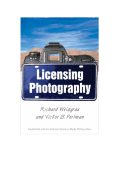 Licensing Photography.-Richard Weisgrau Victor Perlman