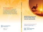 Modernizing America's Food and Farm Policy - Vision for a New Direction
