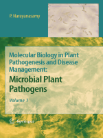 Molecular Biology in Plant Pathogenesis and Disease Management Vol.1 - Microbial Plant Pathogens