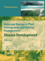 Molecular Biology in Plant Pathogenesis and Disease Management Vol.2 - Disease Development