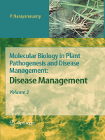 Molecular Biology in Plant Pathogenesis and Disease Management Vol.3 - Disease Management