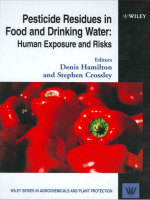 Pesticide Residues in Food and Drinking Water - Human Exposure and Risks