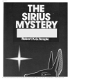 Robert Temple - The Sirius Mystery