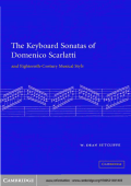 Sutcliffe D. The Keyboard Sonatas of Domenico Scarlatti and the 18th. century musical style