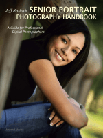 Jeff Smith;s Senior Portrait Photography Handbook-A Guide for Professional Digital Photographers.-Jeff Smith