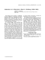 Addendum to in memoriam  Albert A. Dahlberg (1908в1993)