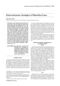 Extracutaneous analogies of Blaschko lines