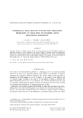 Formulation of the eddy current problem in multiply connected regions in terms of h