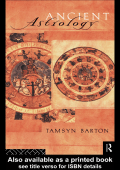 [Sciences of Antiquity Series] Tamysn Barton - Ancient Astrology (1994  Routledge)