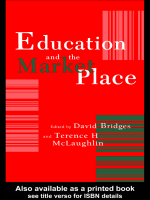 20470ddde7 David Bridges Professor of Education University of East Anglia School of  Education  Terence McLaughlin Lecturer