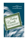 Jacqueline Jones Royster  ANN MARIE SIMPKINS - Calling Cards- Theory and Practice in the Study of Race  Gender  and Culture (2005  State University of New York Press)