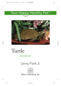 Lenny Flank Jr. - Turtle- Your Happy Healthy Pet (2007  Howell Book House)