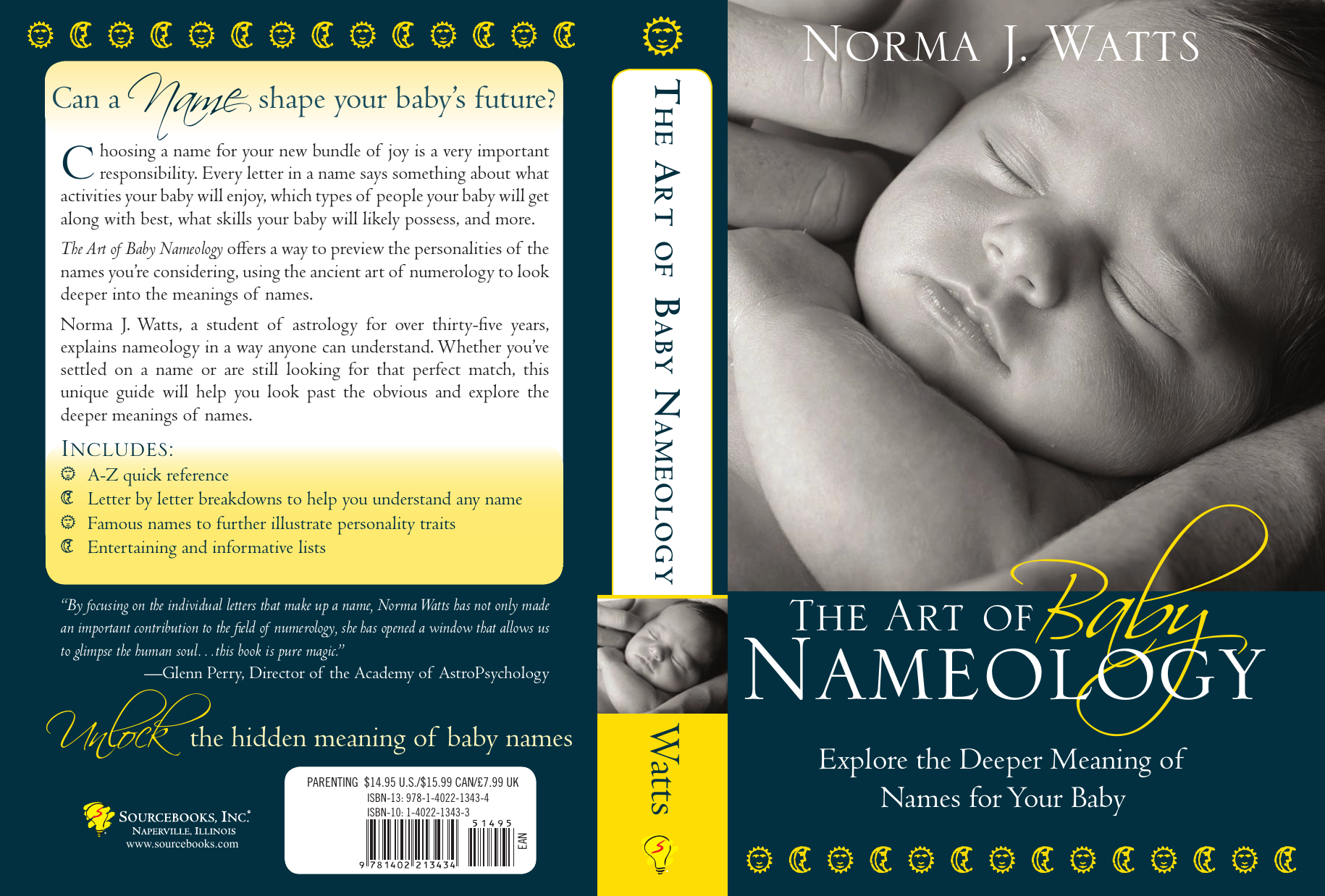 Norma Watts - The The Art of Baby Nameology- Explore the Deeper Meaning of  Names for Your Baby (2008 Sourcebooks Inc.)