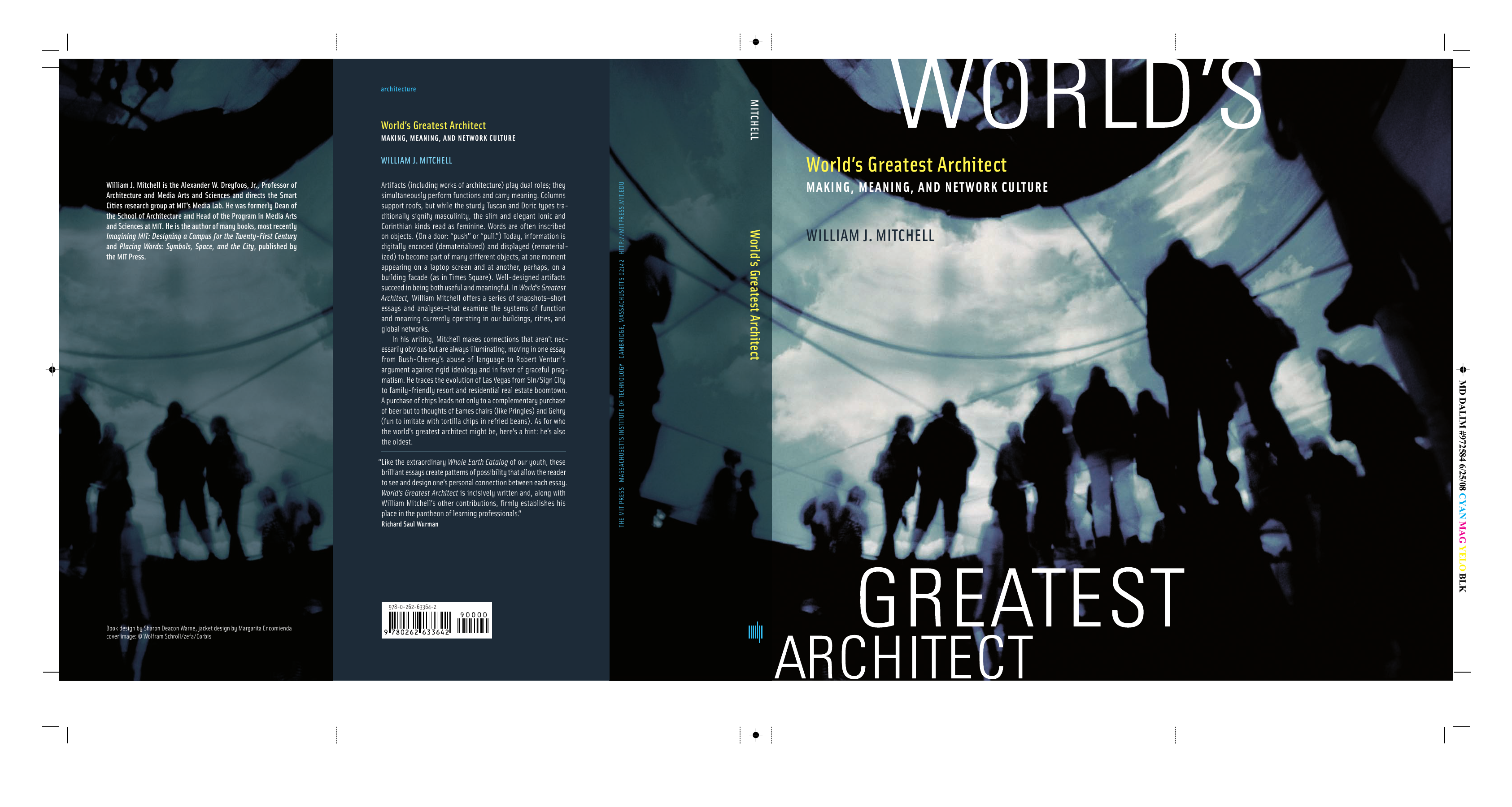 574858a6ca2 William J. Mitchell - Worlds Greatest Architect- Making Meaning and Network  Culture (2008 The MIT Press)
