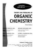 George Hademenos - Schaums Outline of Theory and Problems of Organic Chemistry (1999  McGraw-Hill).pdf