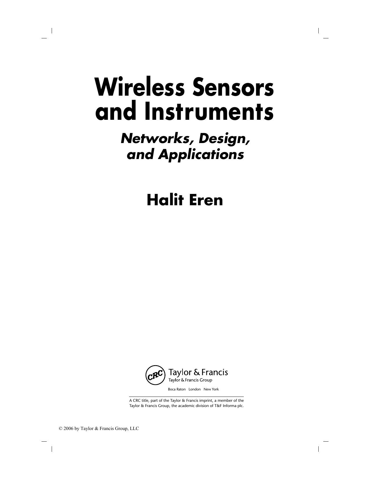 Halit Eren Wireless Sensors And Instruments 2005 Crc Presspdf 10 Pcs Rtd Circuits K Type Thermocouple Plugs Adapter Orange Walmart