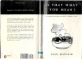Paul Hancock - Is That What You Mean- 50 common mistakes and how to correct them (2001  Longman - Penguin).pdf