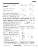 An Efficient and General Iron-Catalyzed Arylation of Benzyl Alcohols and Benzyl Carboxylates.