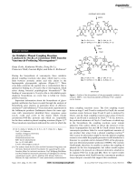 An Oxidative Phenol Coupling Reaction Catalyzed by OxyB  a Cytochrome P450 from the Vancomycin-Producing Microorganism.