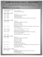 ANA annual meeting program.