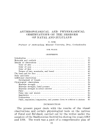 Anthropological and physiological observations on the negroes of Natal and Zululand.